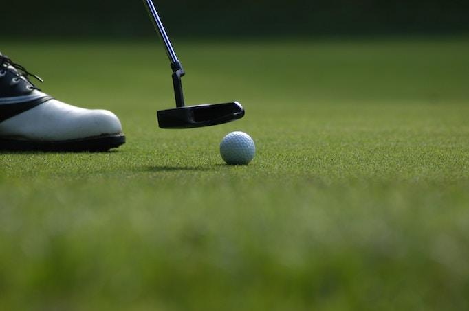 ゴルフ接待イメージ